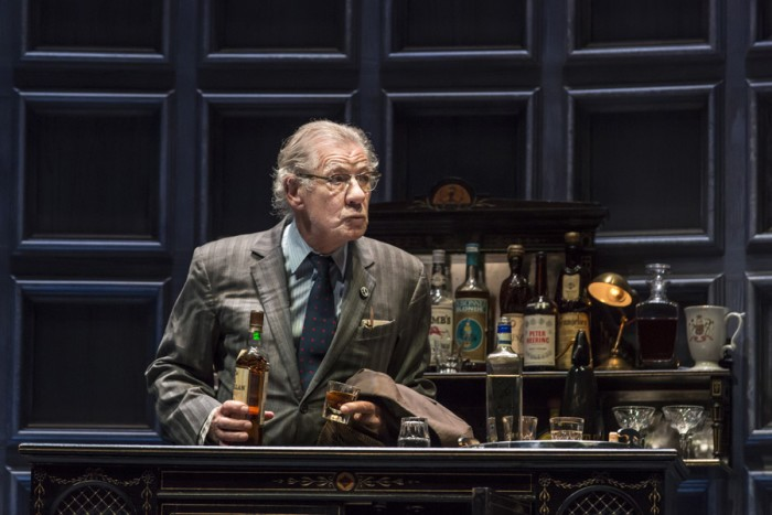 Ian McKellen in No Man's Land (Photo: Johan Persson)