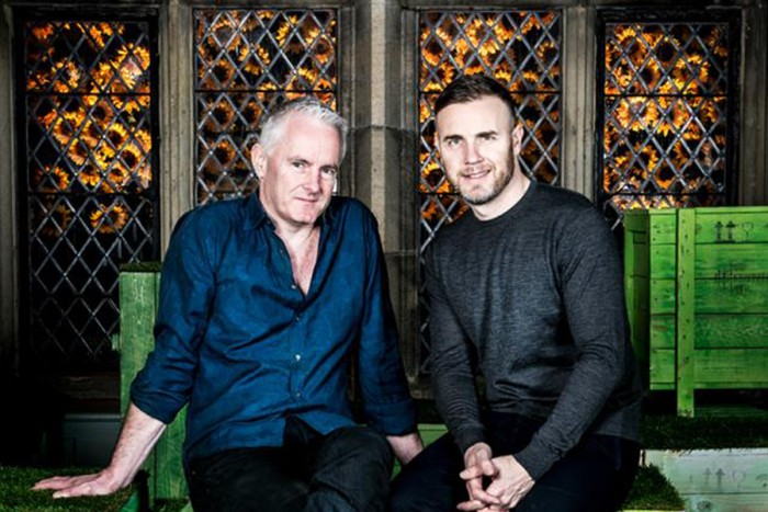 Tim Firth and Gary Barlow