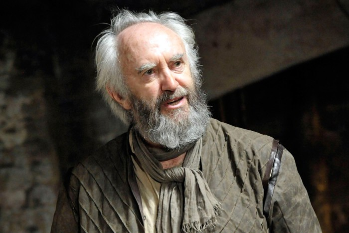 Jonathan Pryce as King Lear at the Almeida Theatre (photo: Keith Pattison)