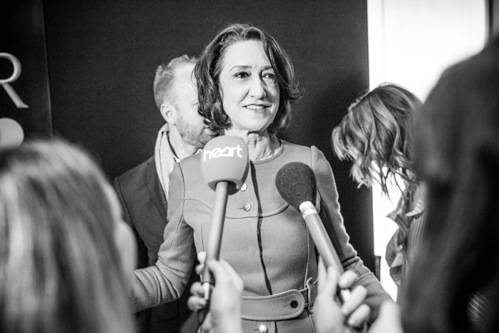 Haydn Gwynne at the Olivier Awards 2017 with Mastercard nominees' celebration (Photo: David Levene)