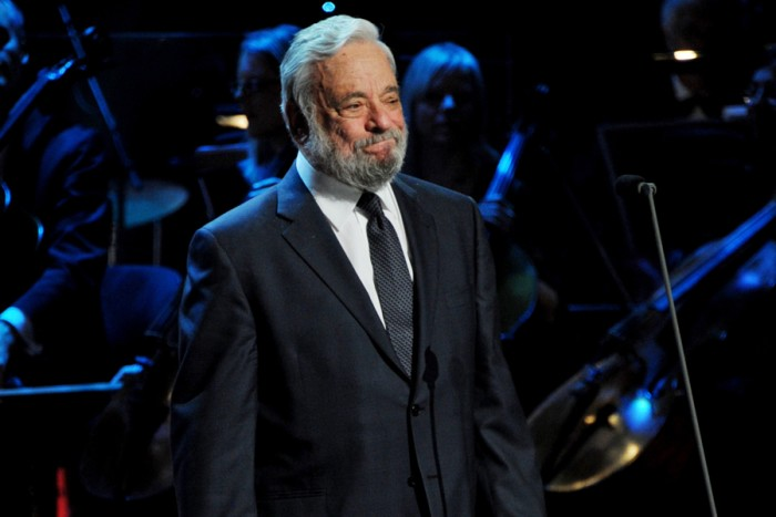 Stephen Sondheim at the Olivier Awards 2011 (Photo: Richard Young)