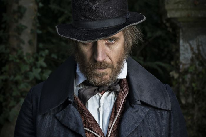 Rhys Ifans in A Christmas Carol at The Old Vic (Photo: Helen Maybanks)
