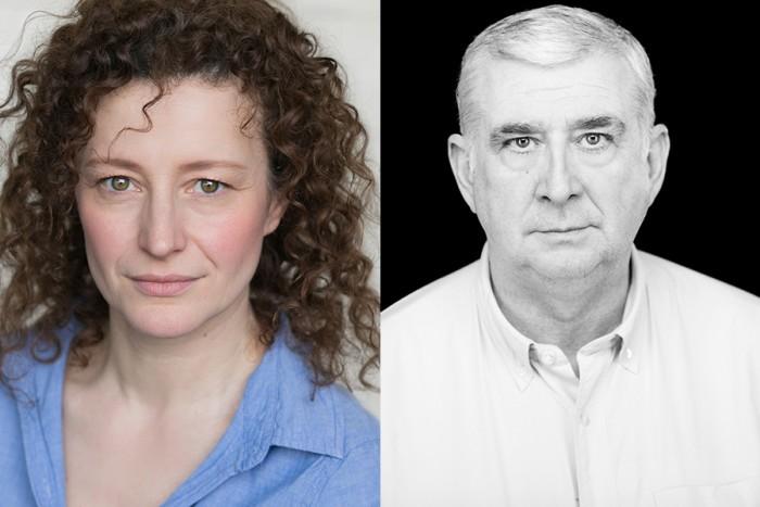 Anna Francolini and Gerard Horan