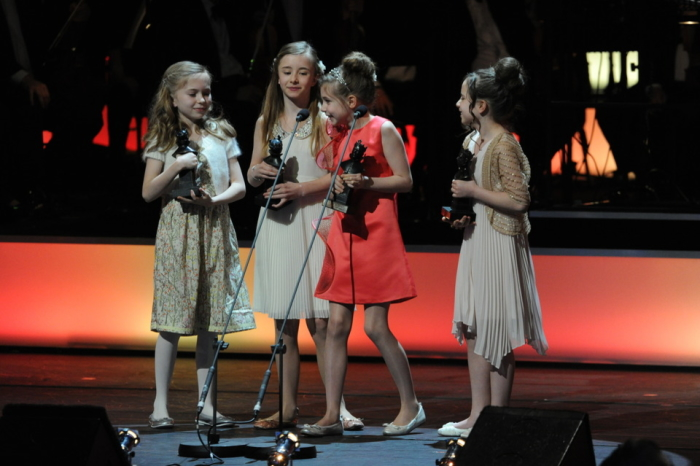 The Matildas at the Olivier Awards 2012 with Mastercard (Photo: Alastair Muir)