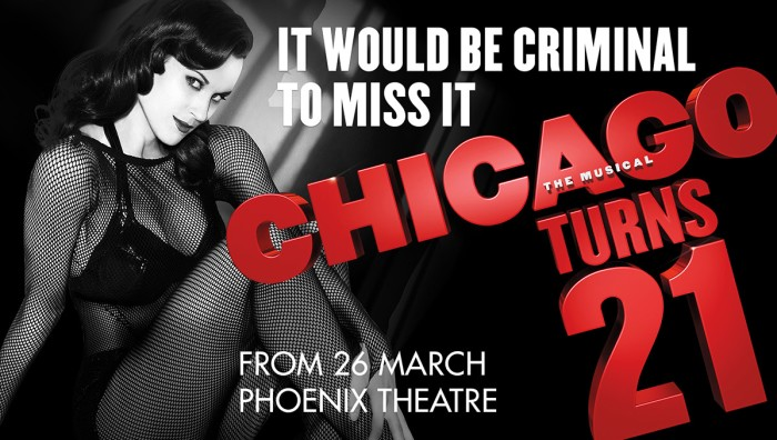 Chicago artwork for West End return