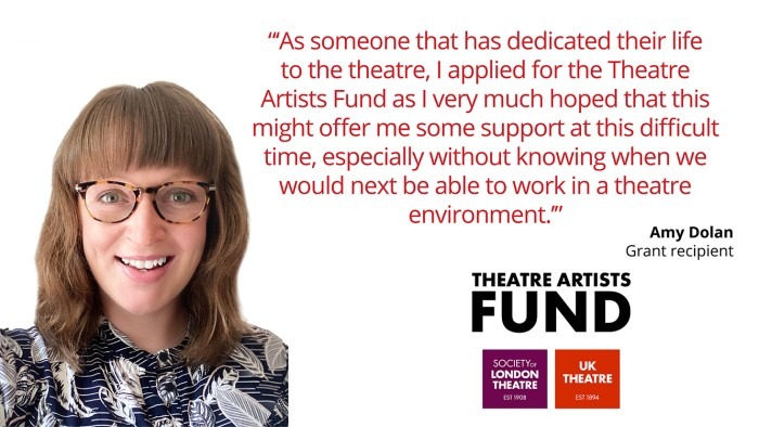 Theatre Artists Fund Amy