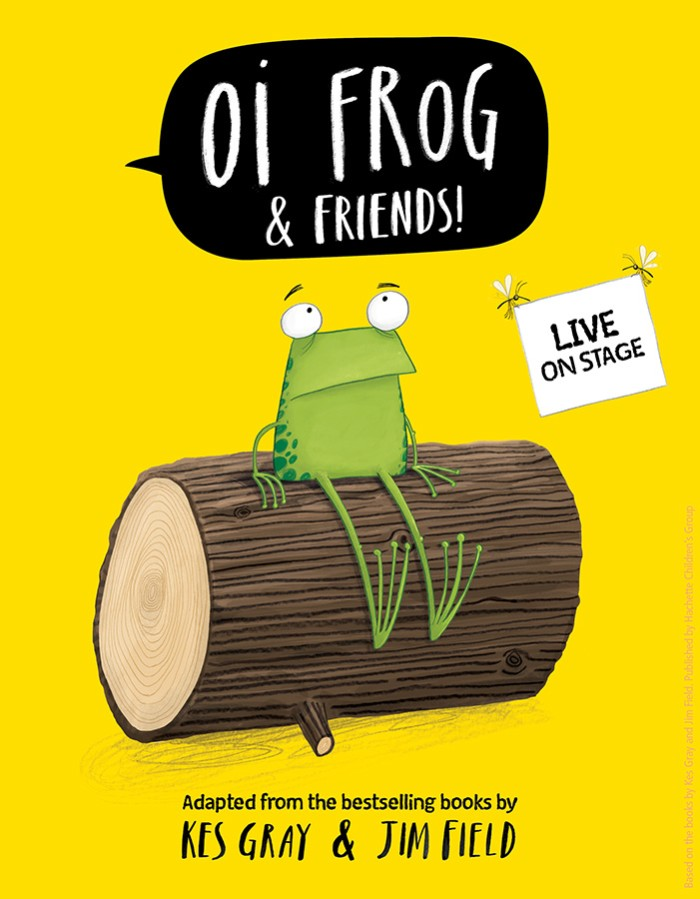 Oi Frog & Friends! is coming to London's Lyric Theatre