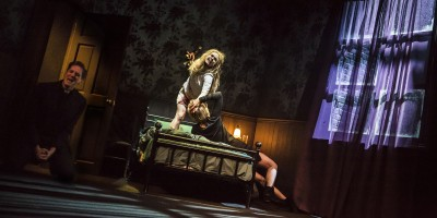 Clare Louise Connolly in The Exorcist play at the Phoenix Theatre (Photo: Pamela Raith)