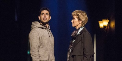 Adam Garcia and Jenny Seagrove in The Exorcist play at the Phoenix Theatre (Photo: Pamela Raith)