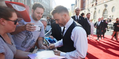 Gary Barlow on the Olivier Awards 2017 with Mastercard red carpet (Photo: David Levene)