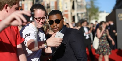 John Boyega on the Olivier Awards 2017 with Mastercard red carpet (Photo: David Levene)