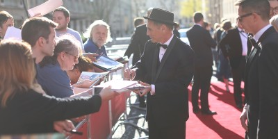 Mark Rylance on the Olivier Awards 2017 with Mastercard red carpet (Photo: David Levene)