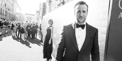 Rafe Spall on the Olivier Awards 2017 with Mastercard red carpet (Photo: Matt Humphrey)