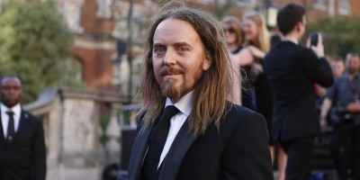 Tim Minchin on the Olivier Awards 2017 with Mastercard red carpet (Photo: David Levene)