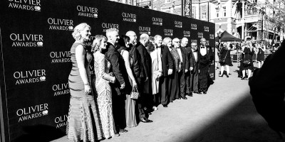The Be Inspired Champions on the Olivier Awards 2017 with Mastercard red carpet (Photo: Matt Humphrey)