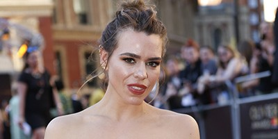 Billie Piper on the Olivier Awards 2017 with Mastercard red carpet (Photo: Pamela Raith)