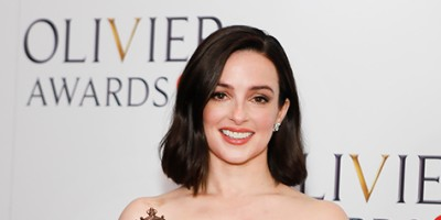 Laura Donnelly, winner of the Best Actress award for The Ferryman at the Olivier Awards 2018 with Mastercard