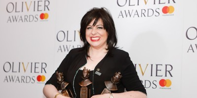 Daniela Barcellona, winner of the Best New Opera Production award and the Outstanding Achievement in Opera award for Semiramide at the Olivier Awards 2018 with Mastercard