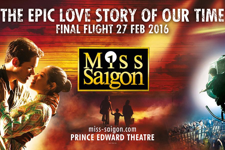 Miss Saigon | Closing: 27 February 2016