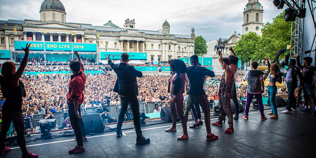 Shows Performing At West End Live 2019 Official London