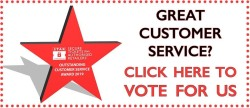 great customer service, click to vote