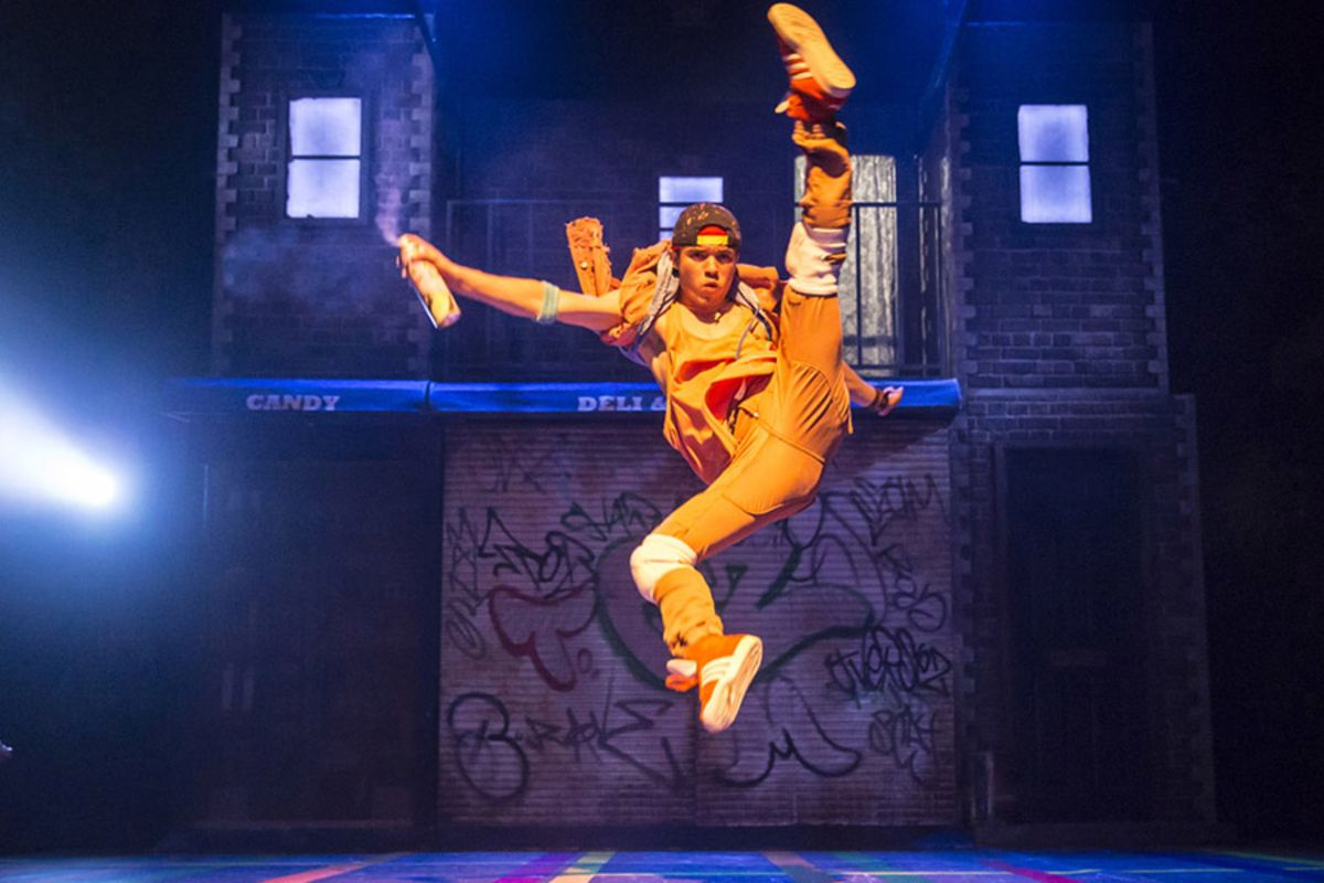 Jonathan Bishop in In The Heights (Photo: Johan Persson)