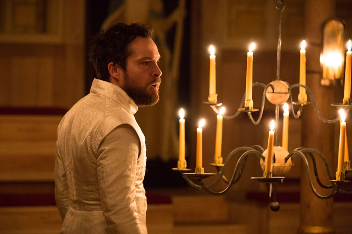 John Light in The Winter's Tale at the Sam Wanamaker Playhouse (Photo: Marc Brenner)