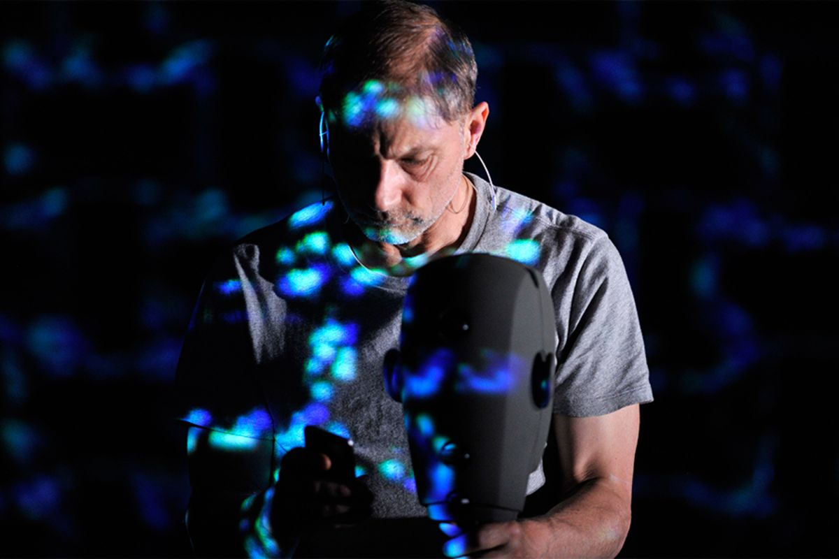 Simon McBurney in The Encounter (Photo: Robbie Jack)