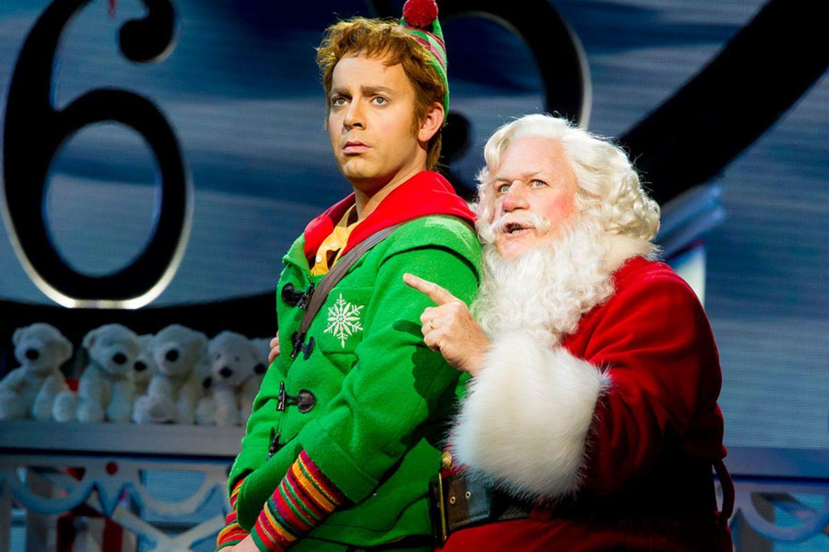 Ben Forster and Mark McKerracher in Elf (Photo: Alastair Muir)