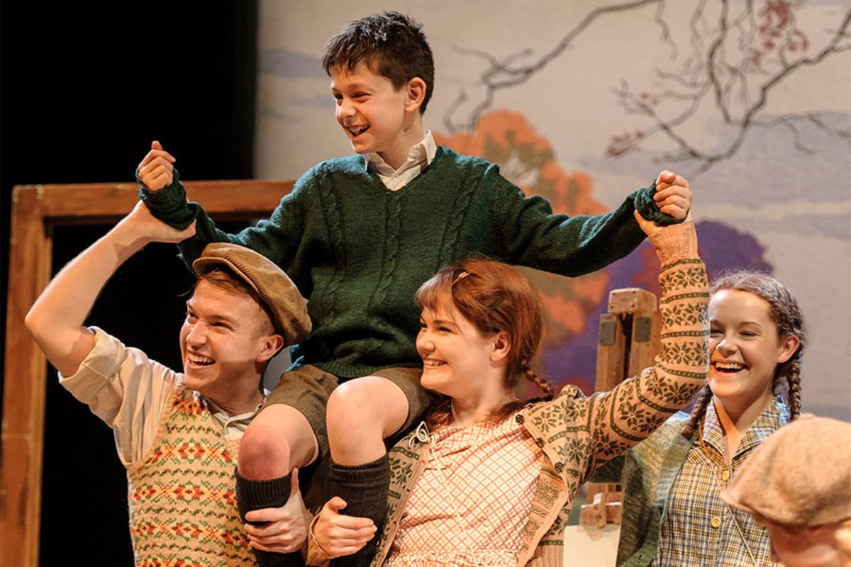 Goodnight Mister Tom at the Duke of York's Theatre (Photo: Dan Tsantilis)