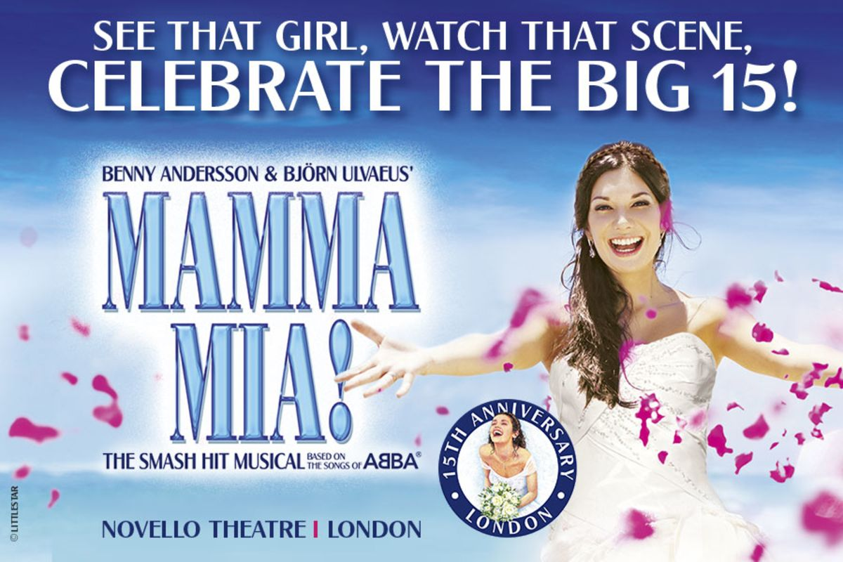 Celebrate 15 years of Mamma Mia! with a free bottle of Prosecco