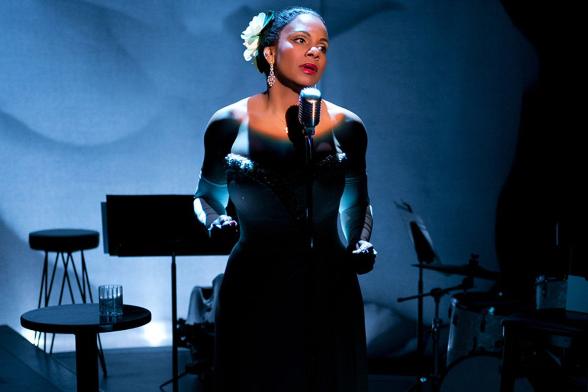 Audra McDonald in Lady Day At Emerson's Bar & Grill in New York (Photo: Evgenia Eliseeva)