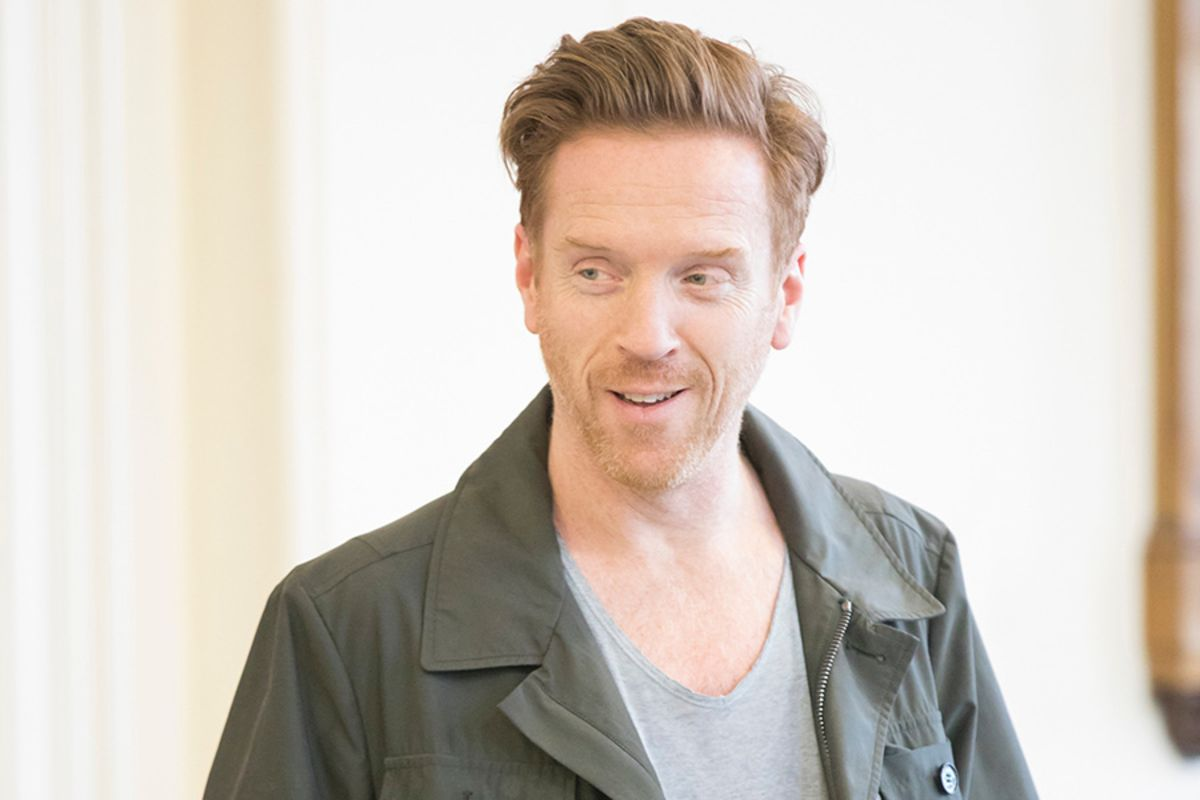 Damian Lewis (Martin) in rehearsal for The Goat, Or Who Is Sylvia? (Photo: Johan Persson)