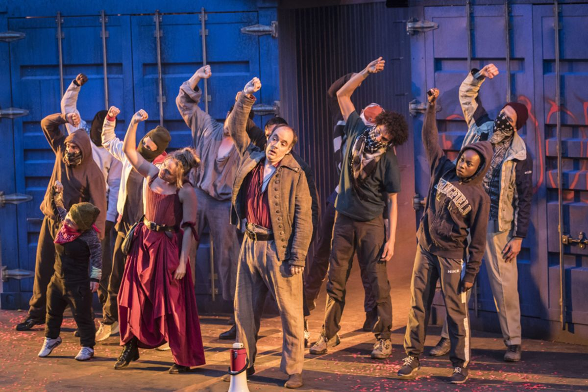 The company of A Tale Of Two Cities at Regent's Park Open Air Theatre (Photo: Johan Persson)