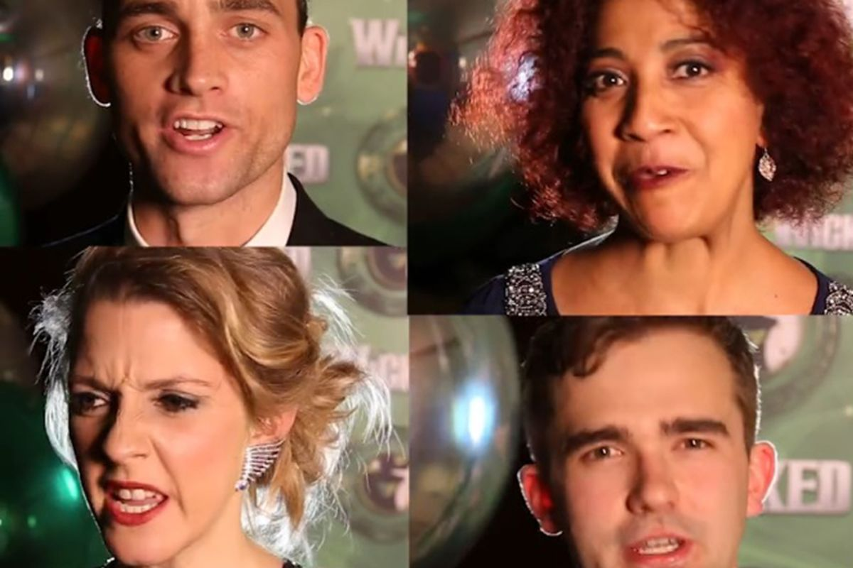 10 questions with the cast of Wicked