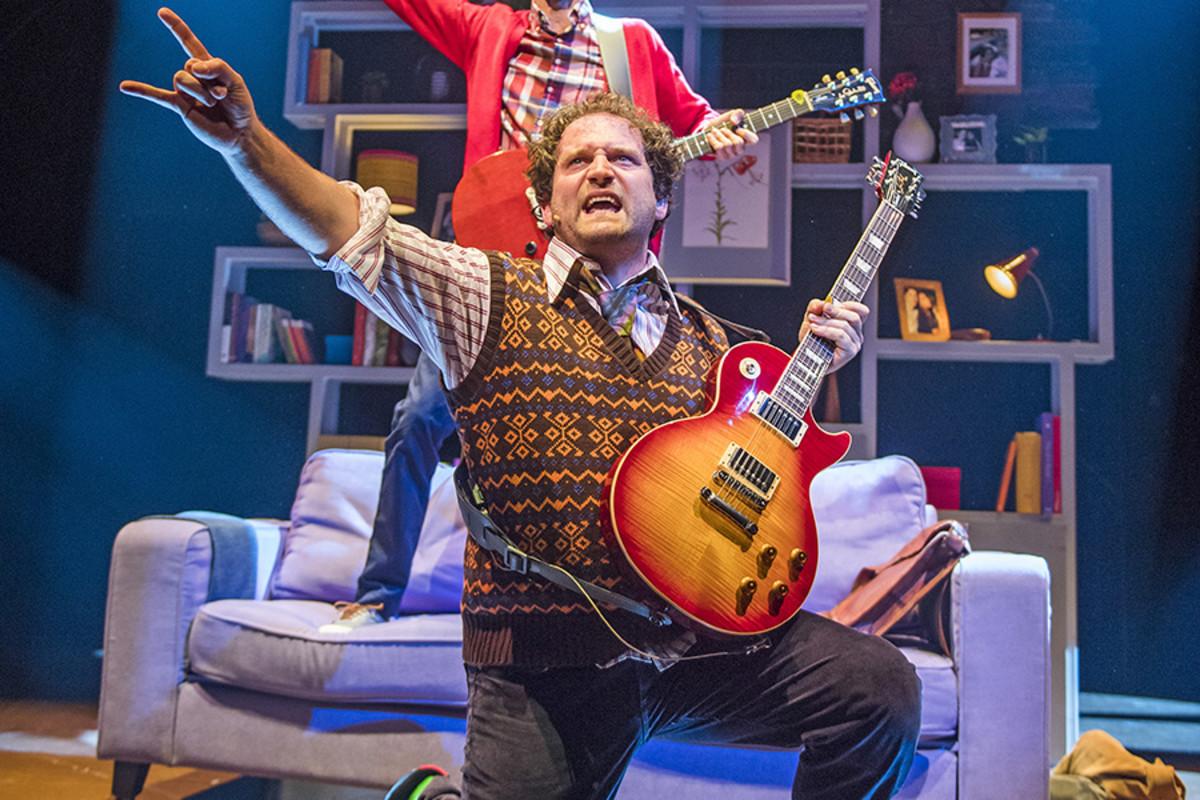 Gary Trainor as Dewey Finn in School Of Rock - The Musical (Photo: Tristram Kenton)