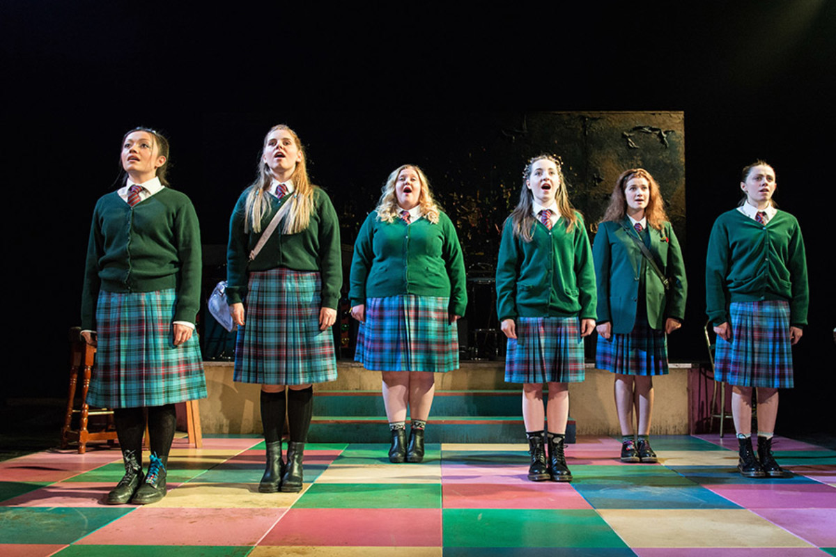 The cast of Our Ladies Of Perpetual Succour (Photo: Manuel Harlan)