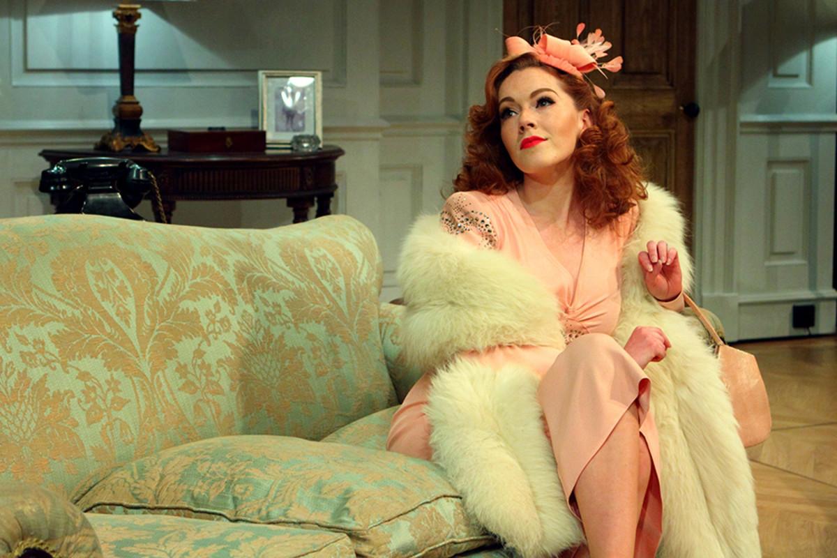 Charlotte Spencer (Diana Fletcher) in Love In Idleness (Photo: Catherine Ashmore)