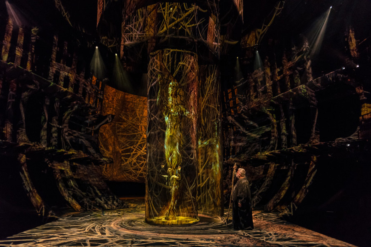 The RSC's The Tempest at the Royal Shakespeare Theatre in Stratford-upon-Avon