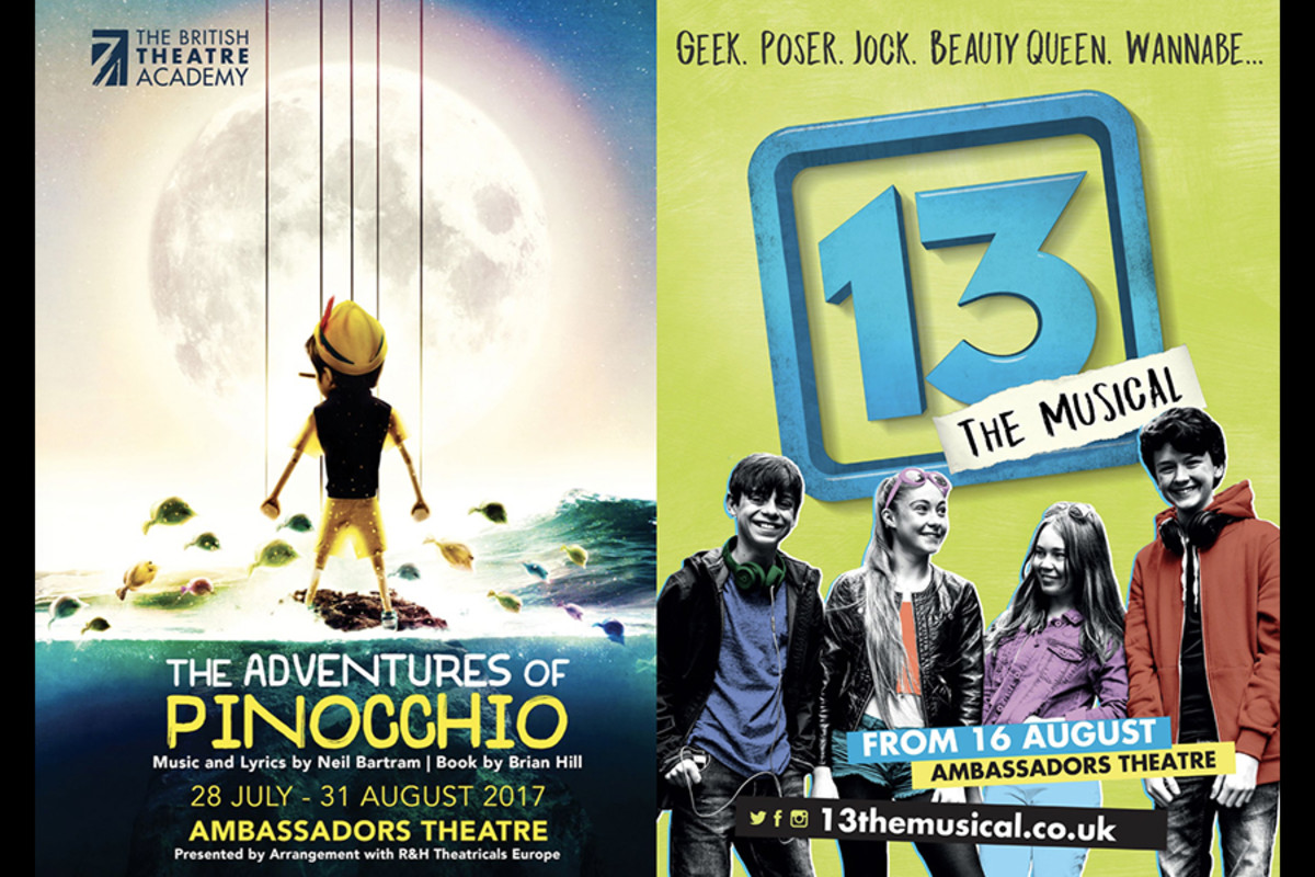 The Adventures Of Pinocchio and 13 at the Ambassadors Theatre