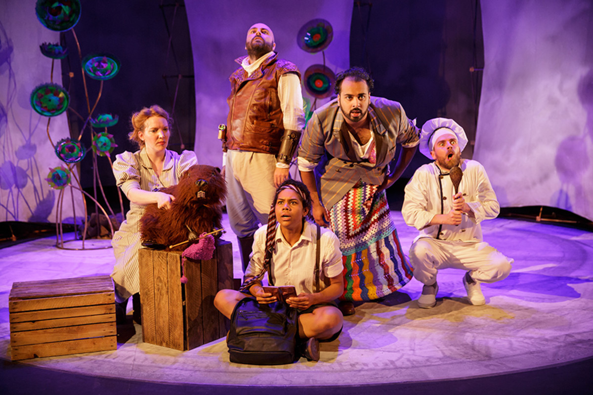 The Hunting Of The Snark at the Sherman Theatre (Photo: Mark Douet)