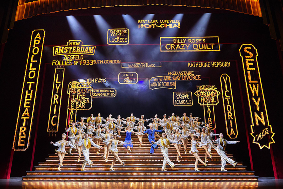 The company of 42nd Street (Photo: Brinkhoff & Moegenburg)