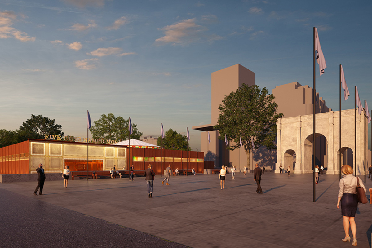 Artist's impression of the new Marble Arch theatre (Credit: Imaginar)