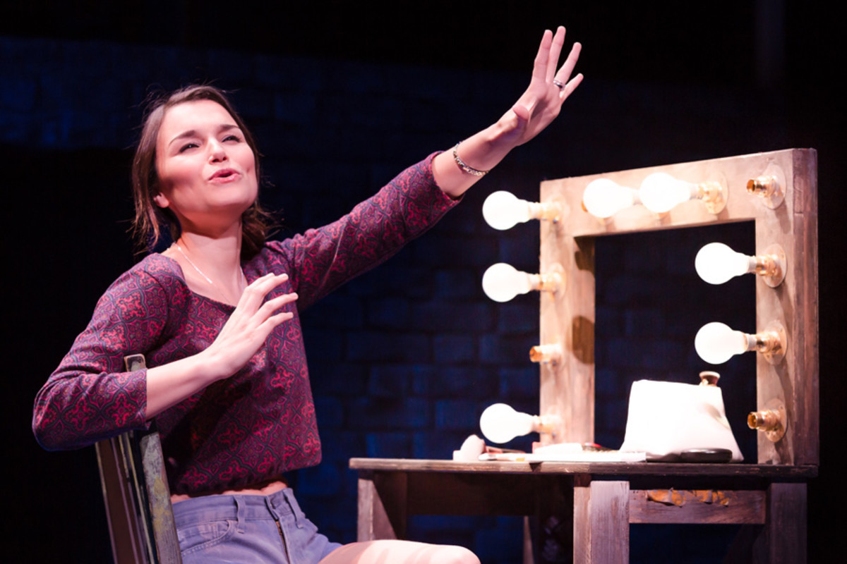 Samantha Barks as Cathy in The Last Five Years (Photo: Scott Rylander)
