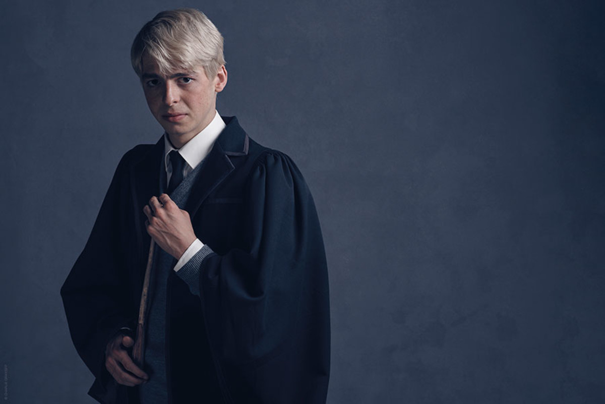 Anthony Boyle as Scorpius Malfoy in Harry Potter And The Cursed Child (Photo: Charlie Gray)