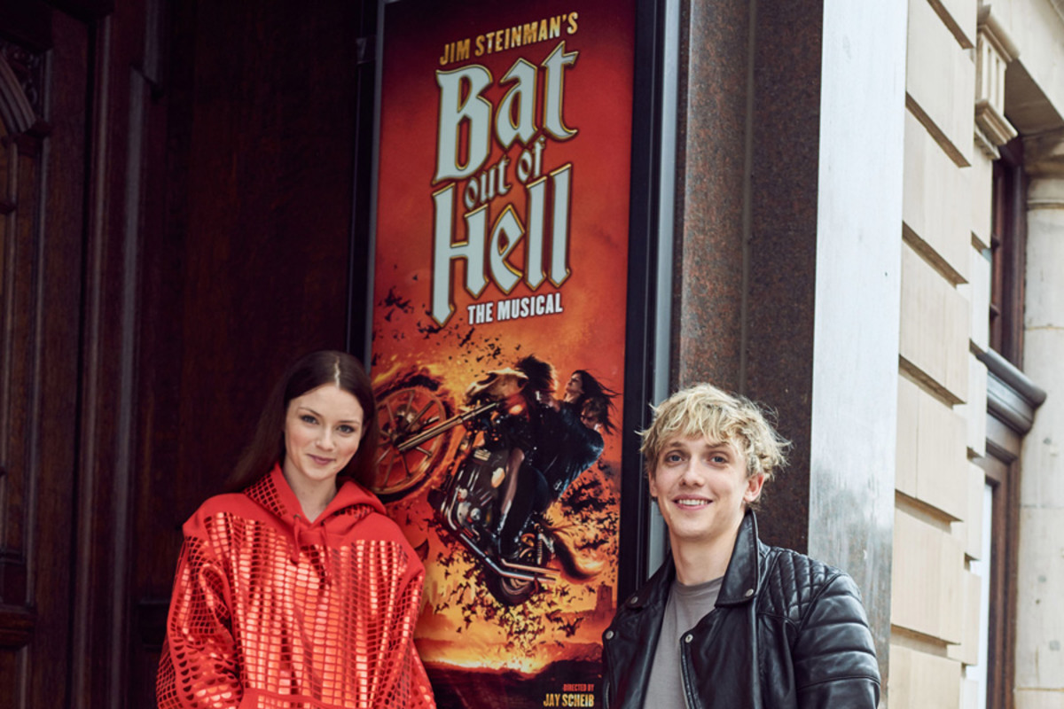 Andrew Polec and Christina Benningtonin Bat Out Of Hell – The Musical (Photo: Specular)