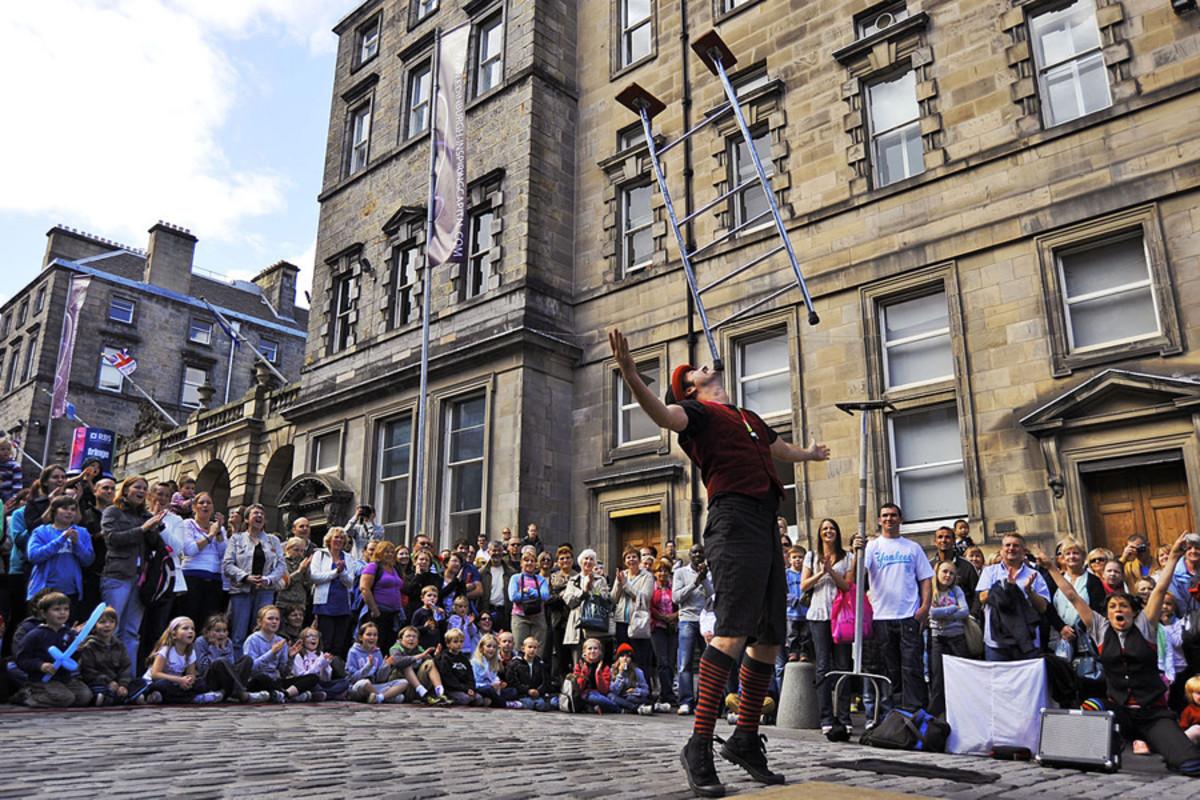 Edinburgh Festival performer