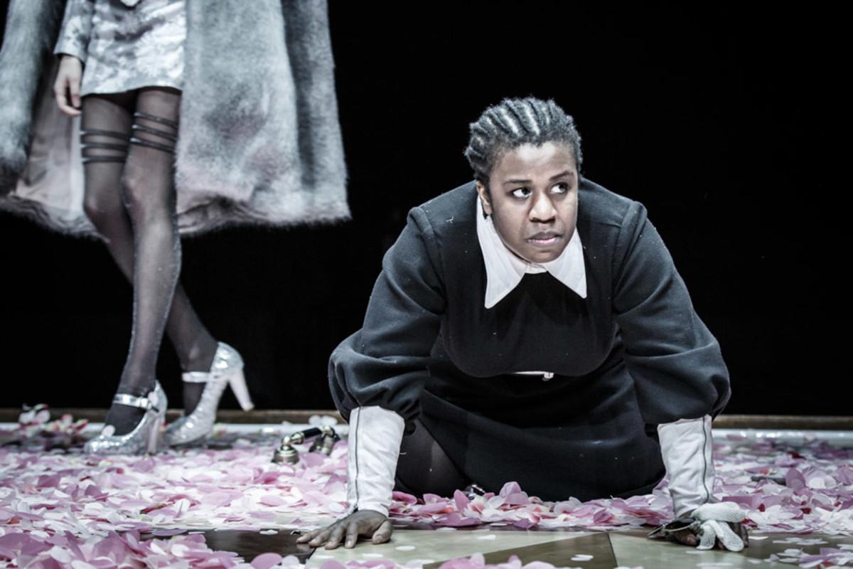 Uzo Aduba in The Maids (Photo: Marc Brenner)