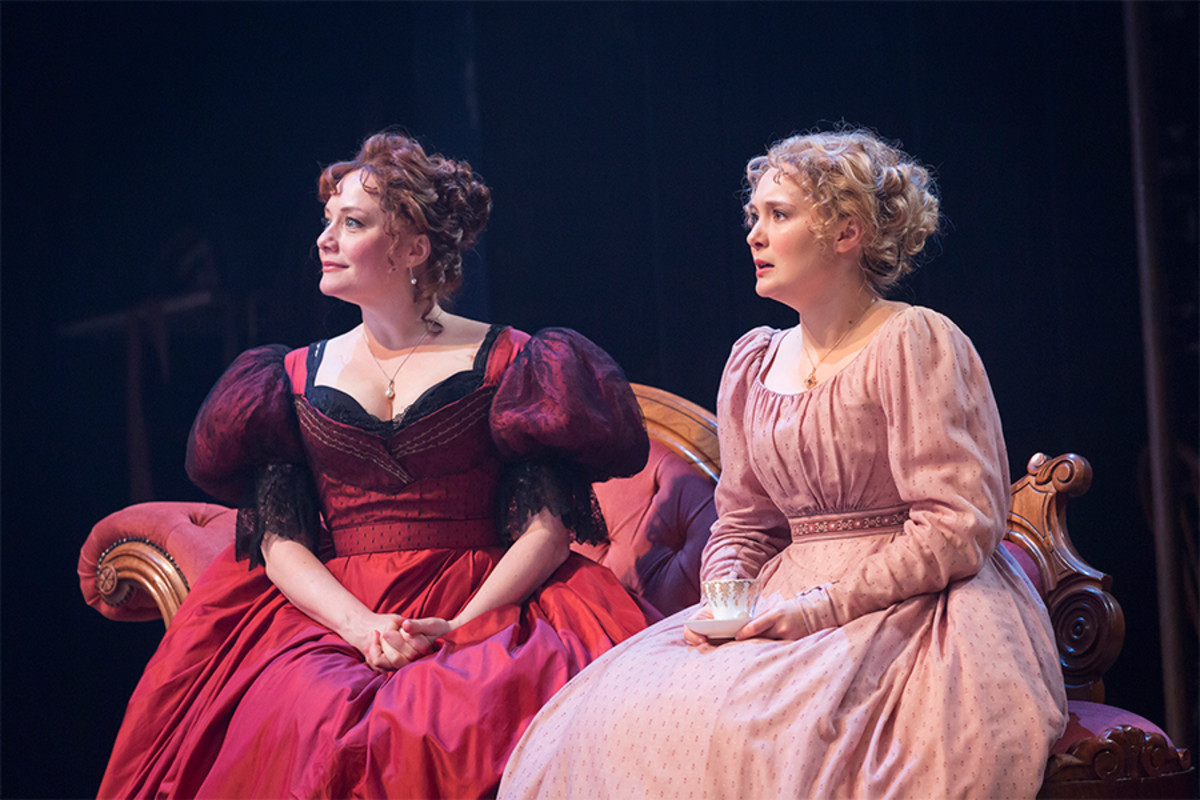 Charlotte Lucas and Amy Morgan in Red Velvet at the Garrick Theatre (Photo: Johan Persson)
