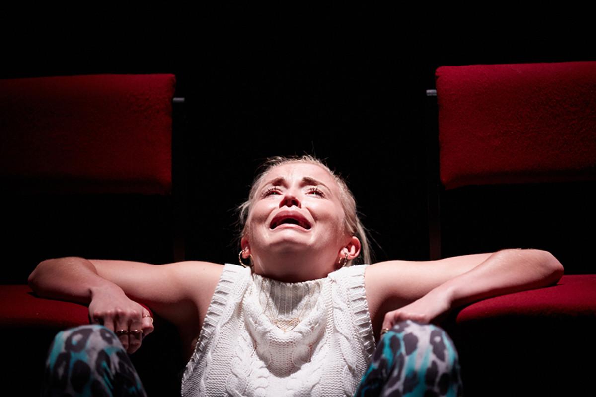 Sophie Melville stars in Iphigenia In Splott (Photo: Mark Douet)